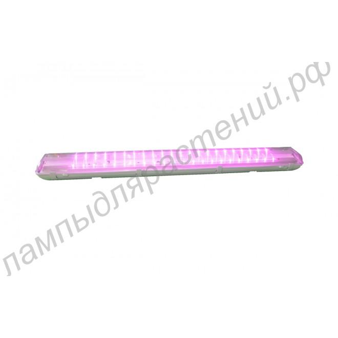 """Светодиодный светильник на базе 3Вт чипов """"Огма"""" IP65 общей мощностью 132Вт с настенным и потолочным креплением"""