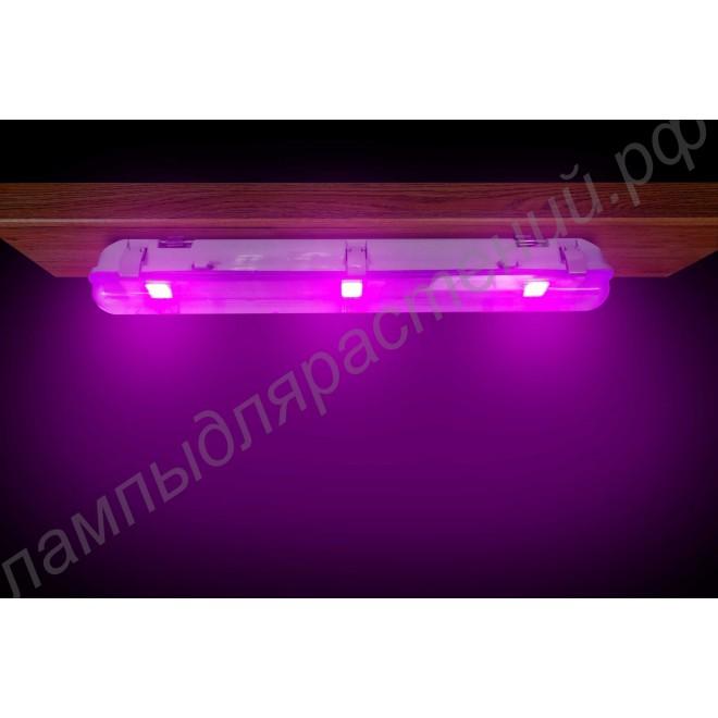 """Светильник LED для растений и аквариумов """"Альхиба"""" 60Вт IP65 с настенным и потолочным креплением"""