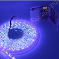 Светодиодная ультрафиолетовая лента для подсветки растений